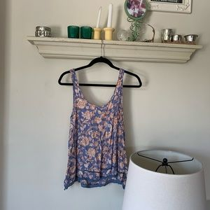 Melrose and Market Floral Top